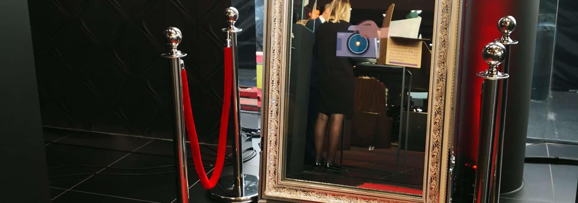 Mirroir magique photobooth