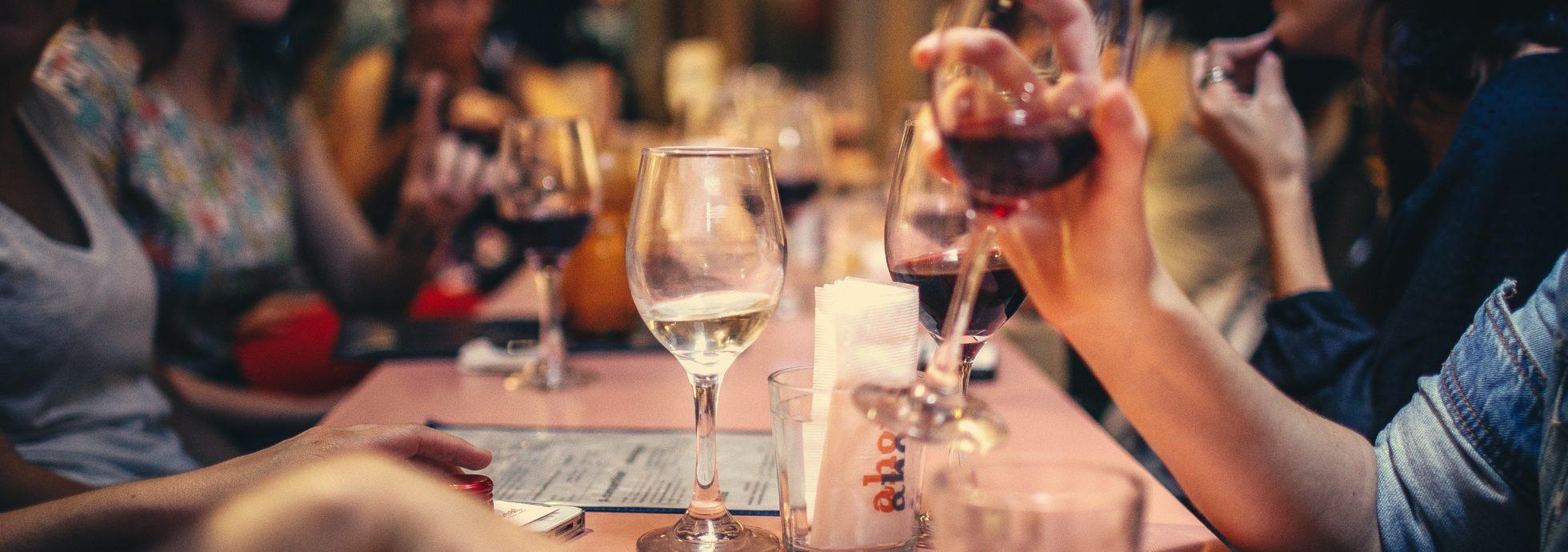 une soirée au restaurant